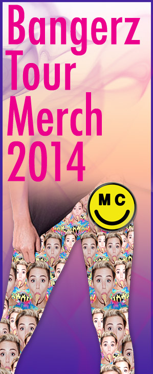 Bangerz Tour Merch