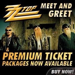 ZZ Top Vip Packages