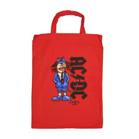 AC/DC Angus Red Tote Bag