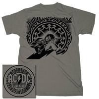 AC/DC Angus/Itin Charcoal T-shirt