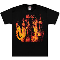 AC/DC Highway to Hell Flames T-Shirt