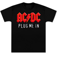 AC/DC Plug Me In T-Shirt