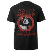 AC/DC Angus Devil Horns No Bull T-Shirt