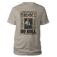AC/DC No Bull DVD Art T-Shirt