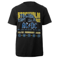 AC/DC Stockholm T-Shirt