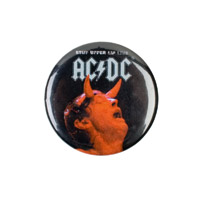 AD/DC Stiff Upper Lip Button