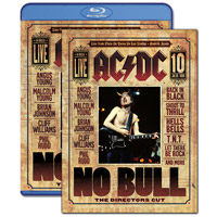 AC/DC No Bull: The Directors Cut Blu-Ray