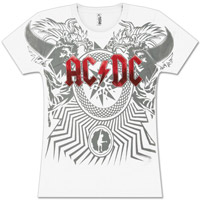 AC/DC Womens Black Ice Tour T-Shirt