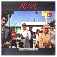 AC/DC Dirty Deeds Done Dirt Cheap CD