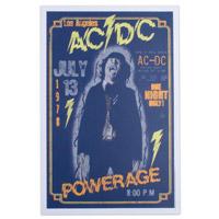 "AC/DC Powerage 12"" x 18"" Poster"