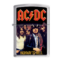 AC/DC Highway to Hell Zippo