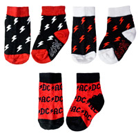 AC/DC Kids Sock Set