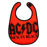 Back in Black Bib