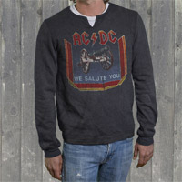 "AC/DC ""We Salute You"" Mens Thermal"