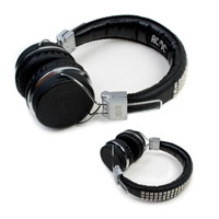 AC/DC Studded Headphones