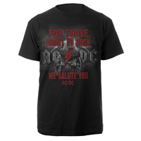 For Those About to Rock We Salute You Tee