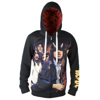 AC/DC Highway to Hell Artwork Zip Hoody