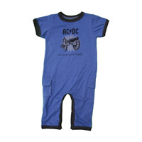 For Those About to Rock Kids Romper