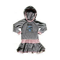 PRE-ORDER For Those About to Rock Hooded Girls Dress