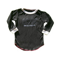Back in Black Kids Tee