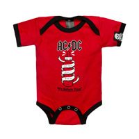 About to Rock Bottle Onesie