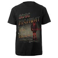 AC/DC HTH Angus Black Tee