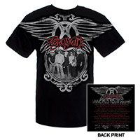Aerosmith '09 Band Photo World Tour Tee