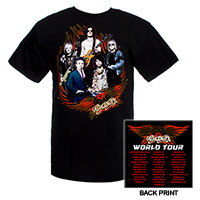 Aerosmith Band Image '09 World Tour Tee