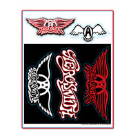 Removable/Reusable Aerosmith Sticker Sheet