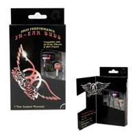 New - Aerosmith High Performance Ear Buds