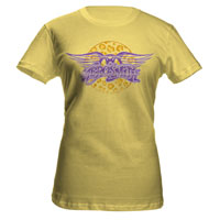Aerosmith Leopard Band Logo Jr. Tee