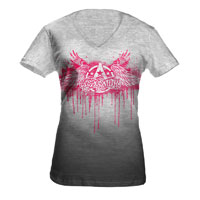 Aerosmith Jr. V-Neck Burnout Tee