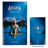 New  - Alegria Tour Program