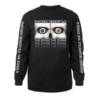 Skeleton Eyes The Stage Long Sleeve Tee