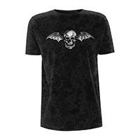 Batwing Distressed Black T-shirt