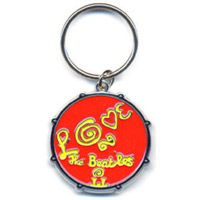 Love Drum Keychain Red