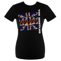 Hard Day's Night Flag Women's Tee
