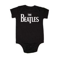 The Beatles Logo Onesie