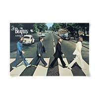 Abbey Road Mural Poster