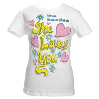 She Loves You Babydoll Tee