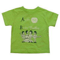 The Beatles Alphabet Toddler Tee