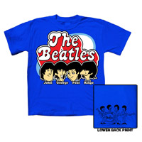 The Beatles Cartoon Toddler Tee
