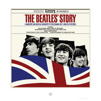 The Beatles' Story Album Cover Lithograph