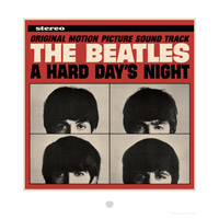 A Hard Day's Night Album Cover Lithograph