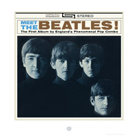 The Beatles Album Cover Lithograph