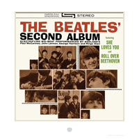 The Beatles' Second Album Cover Lithograph