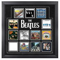 "The Beatles ""UK Album Covers"" Framed Presentation"