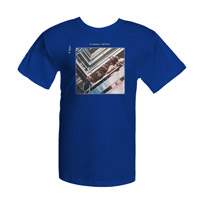 The Beatles Blue Album Cover Tee