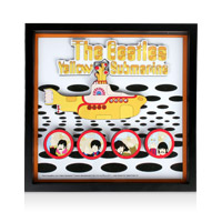 The Beatles: Portholes 3D Art