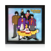 The Beatles: Yellow Submarine 3D Art
